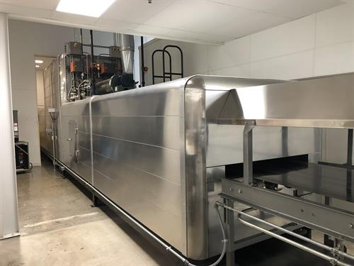 APV 1 meter  wide x 50-ft long Tunnel Oven – Never used