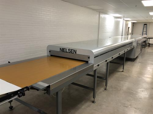 """Nielsen 42"""" wide x 40-ft long Cooling Tunnel"""