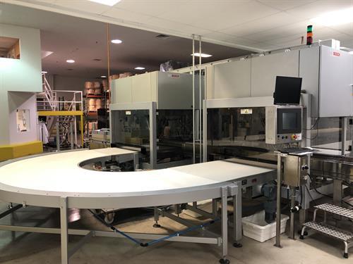 (2) Bosch Delphi Robotic Pick and Place Machines