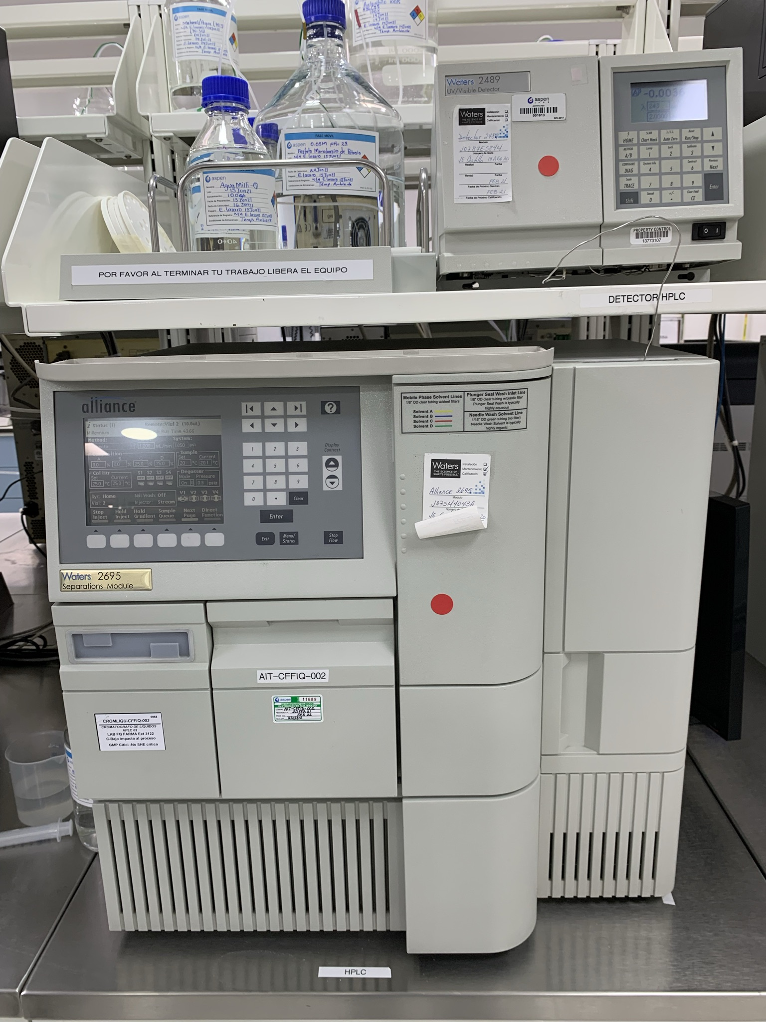 HPLC Waters